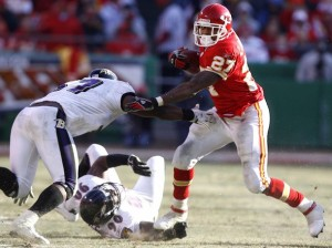 Larry Johnson vs. Chiefs