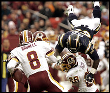 CHARGERS REDSKINS