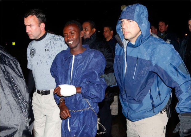 New York Times - Perp Walk Image - Somalia