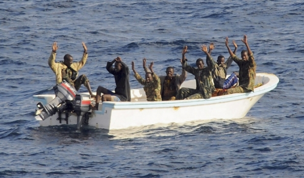 A Captive Audience - Somalians at Sea
