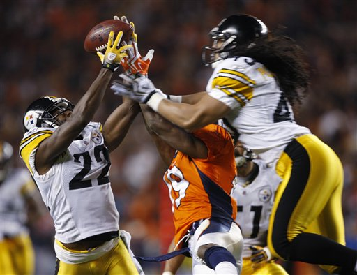APTOPIX Steelers Broncos Football